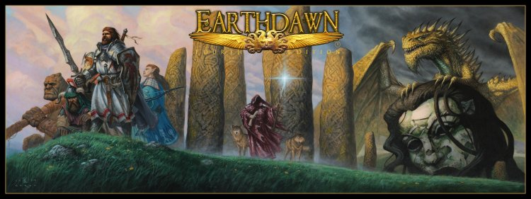 Earthdawn Game Master's Screen (ED4) - Click Image to Close