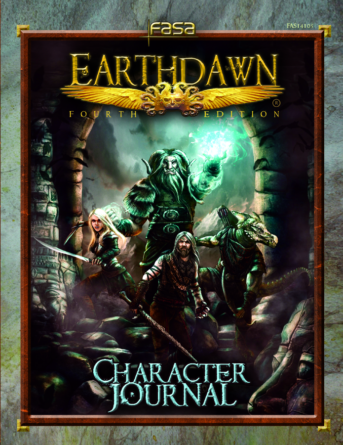 Earthdawn Character Journal (ED4) [SC]