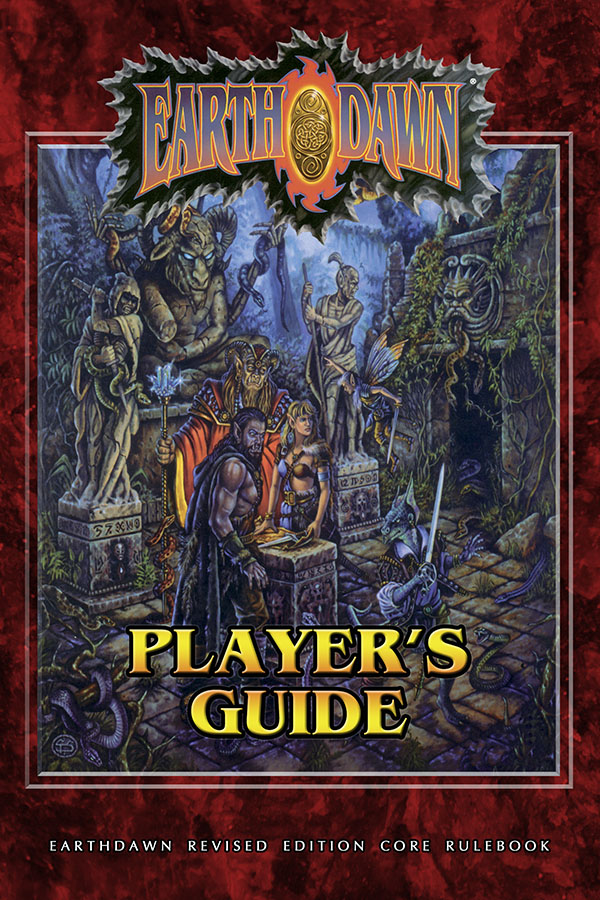 Earthdawn Player's Guide (EDR) [Softcover+PDF]