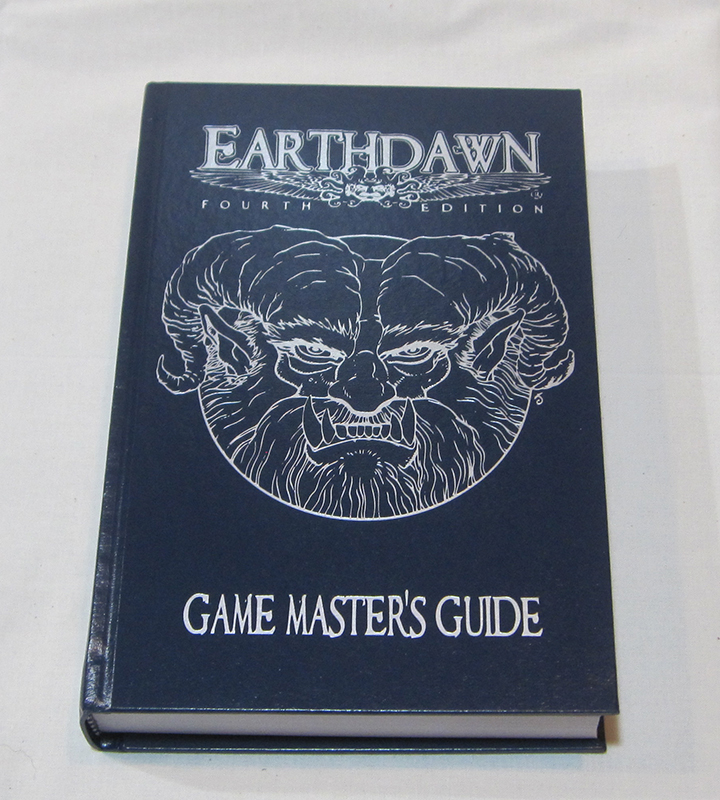 Earthdawn Limited Edition Hard Cover Gamemaster's Guide