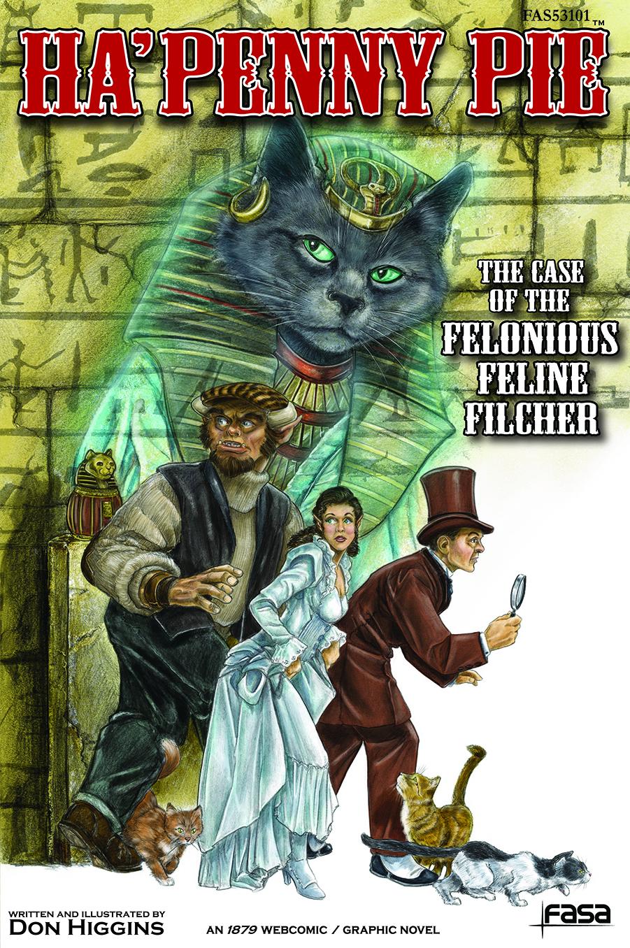 HaPenny Pie 01: Felonious Feline Filcher