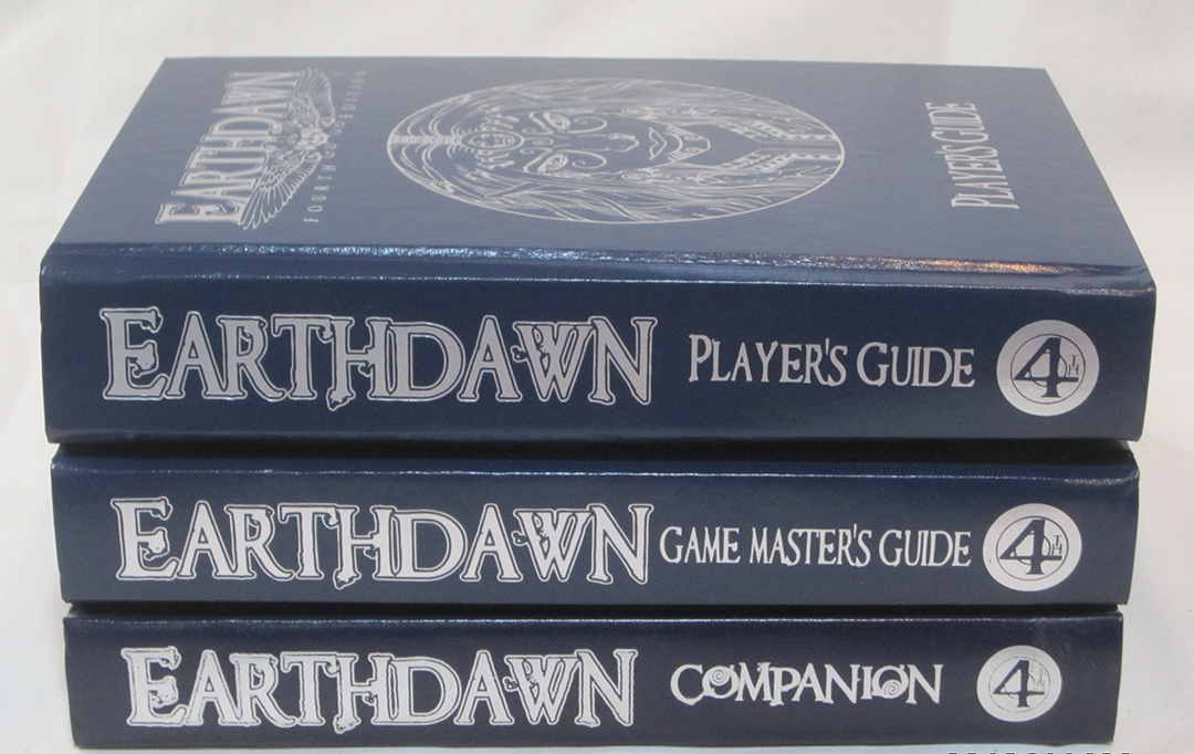 Earthdawn Limited Edition Hard Cover Set