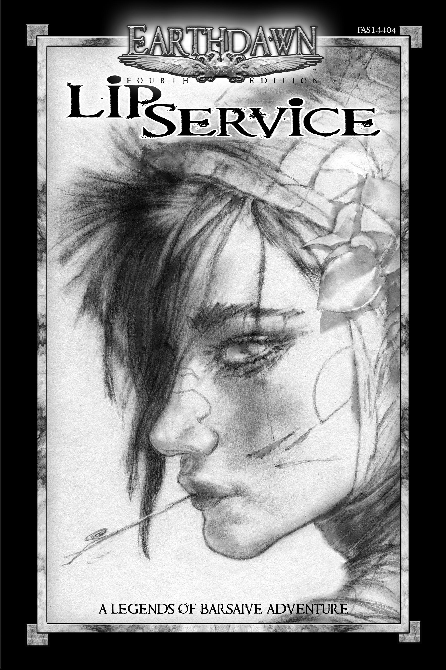 Legends of Barsaive 03: Lip Service [SC]