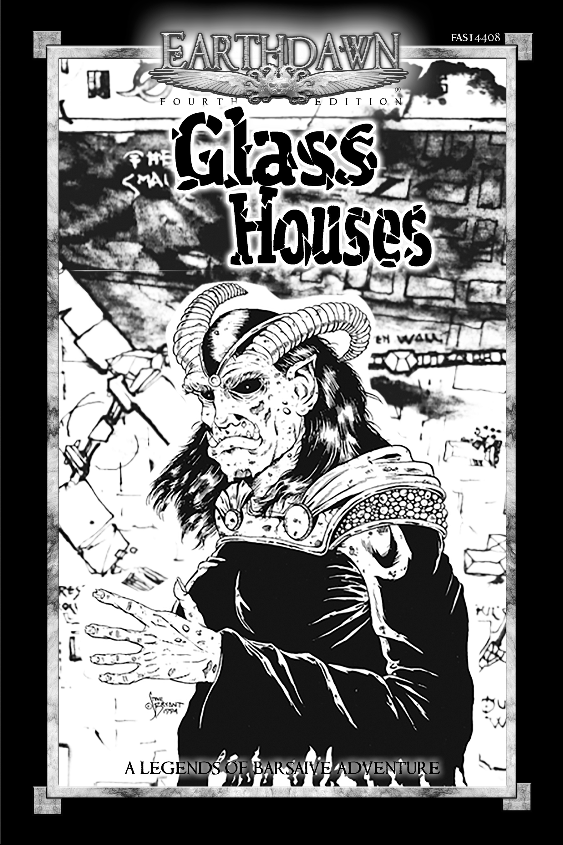 Legends of Barsaive 06: Glass Houses [PDF]